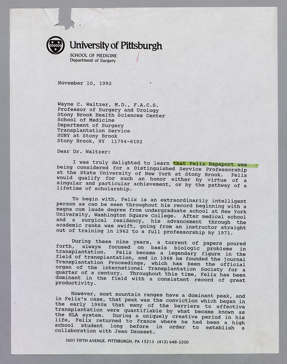 u pitt letter of recommendation