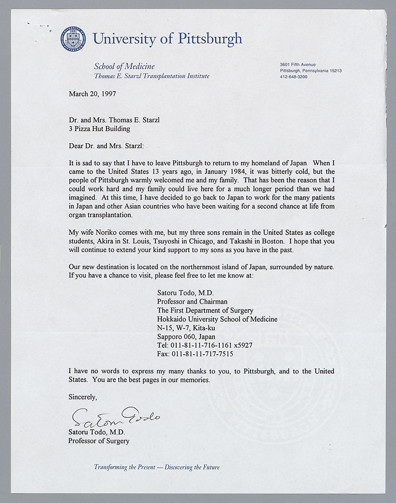 University Of Pittsburgh Recommendation Letters
